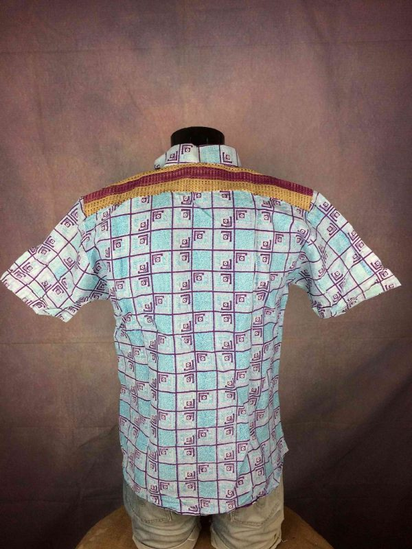 TRIBAL Chemise Coquillage Osier Vintage 00s Gabba Vintage 1 - TRIBAL Chemise Coquillage Osier Vintage 00s