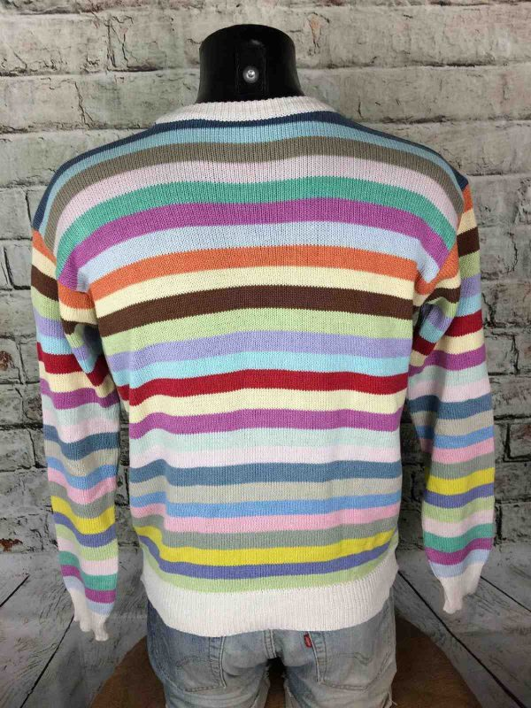 VINTAGE 80s Pullover Tricot Made in Italy Gabba Vintage 1 - VINTAGE 80s Pullover Tricot Made in Italy