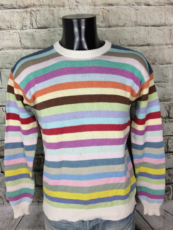 VINTAGE 80s Pullover Tricot Made in Italy - Gabba Vintage