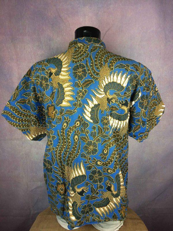 VINTAGE 90s Chemise Tribal Ethnic Design Art Gabba Vintage 1 - VINTAGE 90sChemiseTribalEthnic Design Art