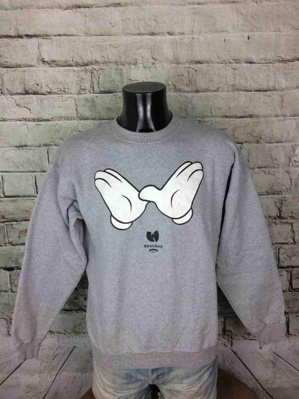 WU TANG Brand Sweatshirt Vintage Made in USA - Gabba Vintage