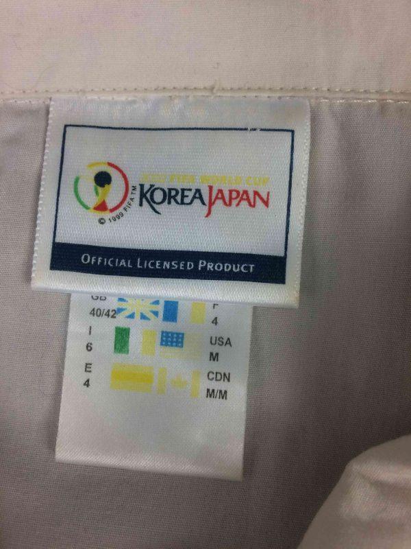 ADIDAS Polo Mundial Korea Japan 2002 Vintage Gabba Vintage 7 rotated - ADIDAS Polo Mundial Korea Japan 2002 Vintage