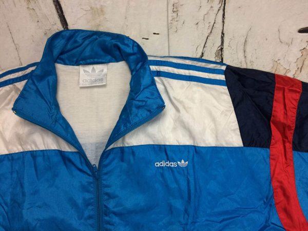 Adidas Survetement Vintage 90s Trefoil Nylon Gabba Vintage 4 - Adidas Survêtement Vintage 90s Trefoil Nylon