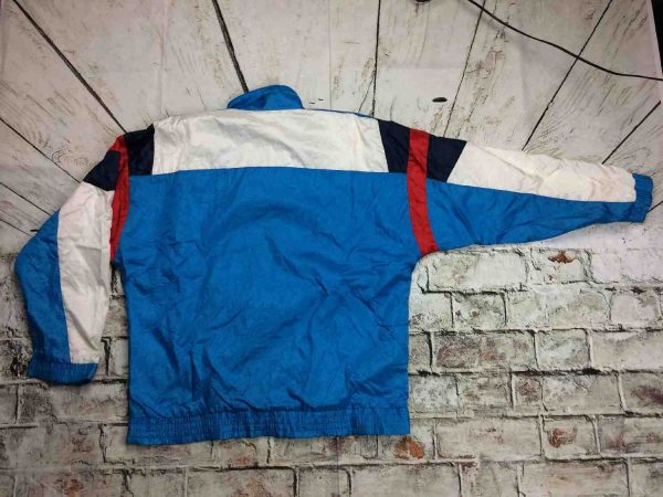 Adidas Survetement Vintage 90s Trefoil Nylon Gabba Vintage 7 - Adidas Survêtement Vintage 90s Trefoil Nylon