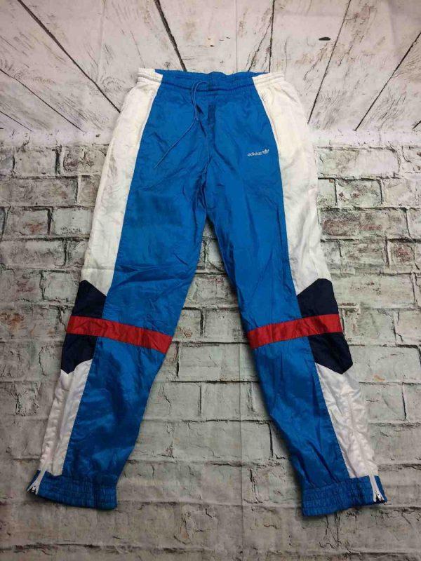 Adidas Survetement Vintage 90s Trefoil Nylon Gabba Vintage 8 - Adidas Survêtement Vintage 90s Trefoil Nylon