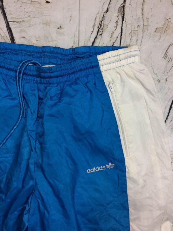 Adidas Survetement Vintage 90s Trefoil Nylon Gabba Vintage 9 - Adidas Survêtement Vintage 90s Trefoil Nylon