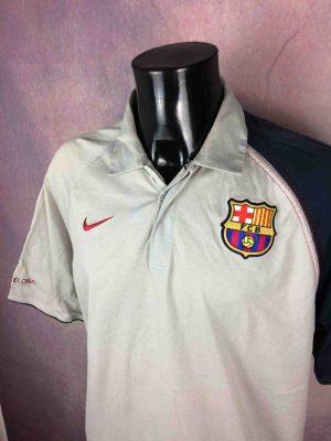 BARCELONA FC Polo Nike 90 Vintage 00s FCB - Gabba Vintage
