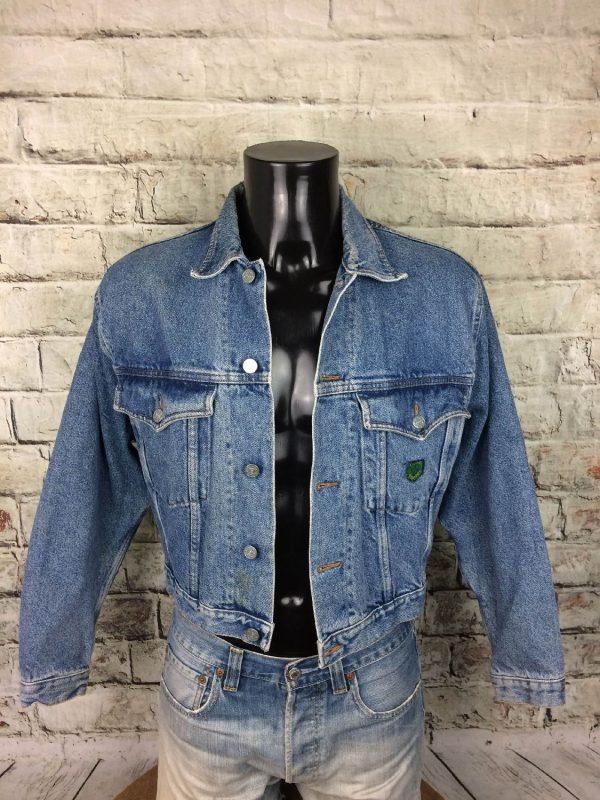 BOATING Veste Vintage Année 80 Jeans France - Gabba Vintage