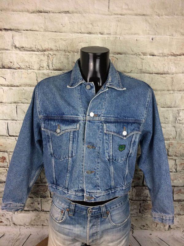 BOATING Veste Vintage Annee 80 Jeans France Gabba Vintage 3 - BOATINGVeste Vintage Année 80 Jeans France