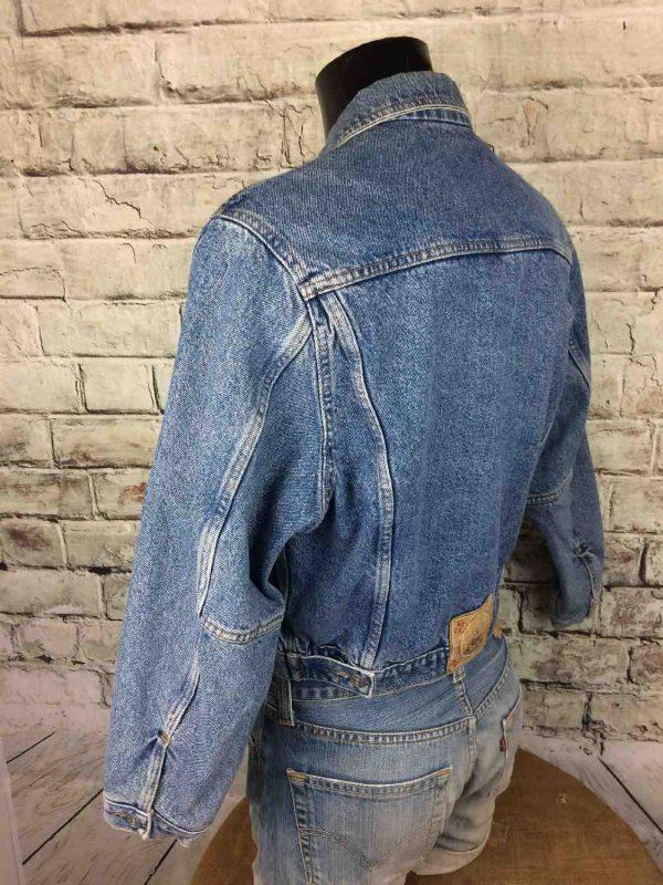 BOATING Veste Vintage Annee 80 Jeans France Gabba Vintage 6 - BOATINGVeste Vintage Année 80 Jeans France