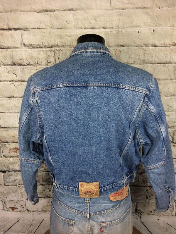 BOATING Veste Vintage Annee 80 Jeans France Gabba Vintage 8 - BOATINGVeste Vintage Année 80 Jeans France