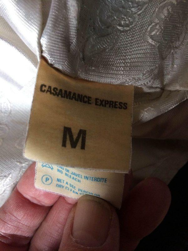 CASAMANCE EXPRESS Veste Vintage Annee 80 Cuir 9 rotated - CASAMANCE EXPRESS Veste Vintage Année 80 Cuir