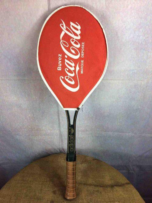 COCA COLA Couvre Raquette Tennis Vintage 80s - Gabba Vintage