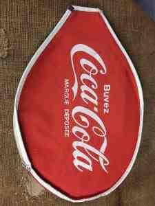 COCA COLA Couvre Raquette Tennis Vintage 80s Gabba Vintage 2 - COCA COLA Couvre Raquette Tennis Vintage 80s