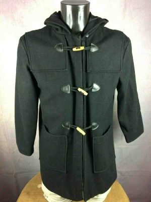 Duffle Coat Vintage 80s Made in France Laine - Gabba Vintage