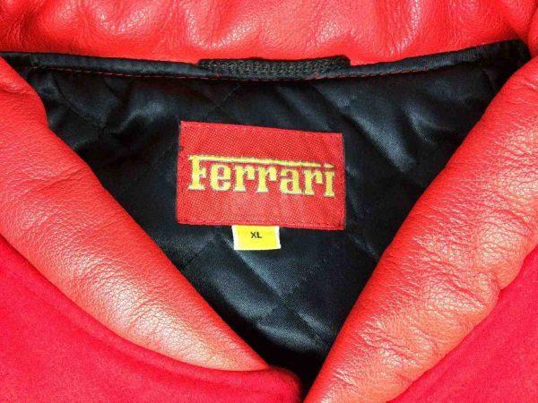 Ferrari veste 5 rotated - Veste Ferrari Official Vintage Année 90 Laine