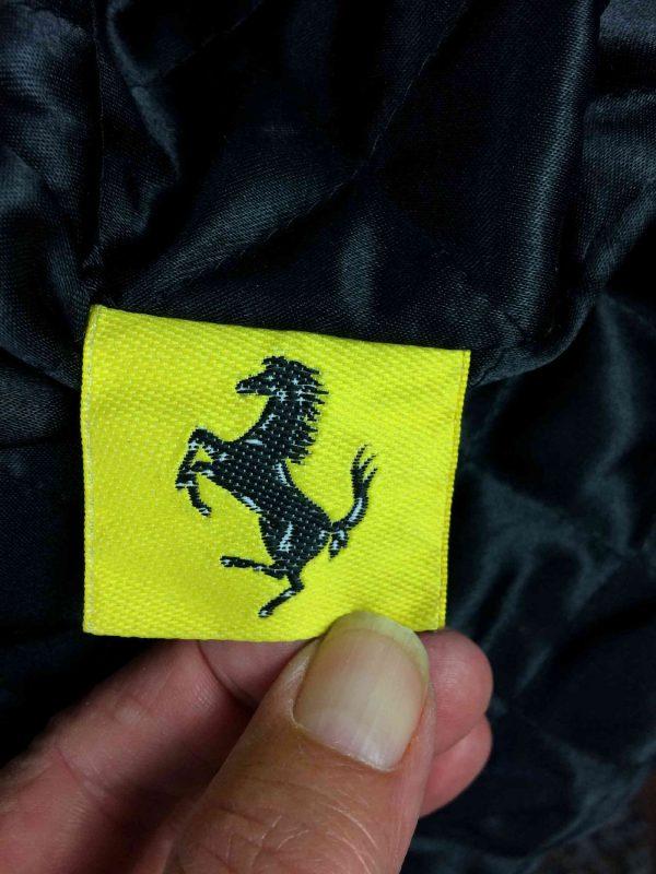 Ferrari veste 6 - Veste Ferrari Official Vintage Année 90 Laine