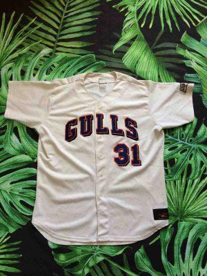 GULLS Newport Maillot #31 Rawlings Baseball - Gabba Vintage