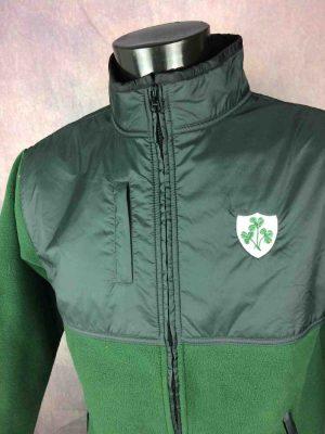 IRELAND Veste Laine Polaire Hiver Rugby - Gabba Vintage (4)