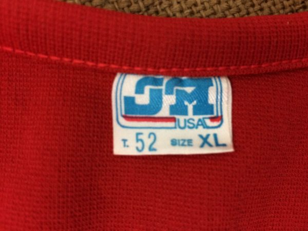 ISERN ESCUDERIA Dossard JM USA Vintage 80s Gabba Vintage 4 rotated - ISERN ESCUDERIA Dossard JM USA Vintage 80s