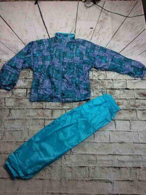 JANERO Survêtement Vintage 90s Nylon Surfing - Gabba Vintage