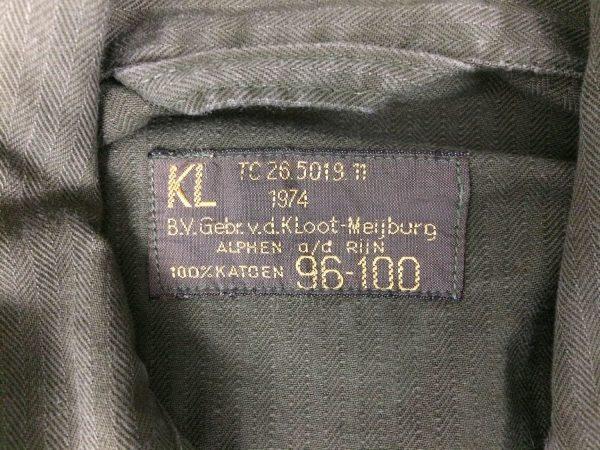 KL Veste Vintage 1974 Annee 70 Hollande Armee 5 rotated - KLVeste Vintage 1974 Année 70 Hollande Armée