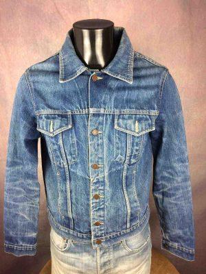 LEVIS 70507 Veste Vintage Année 90 Jeans Rock - Gabba