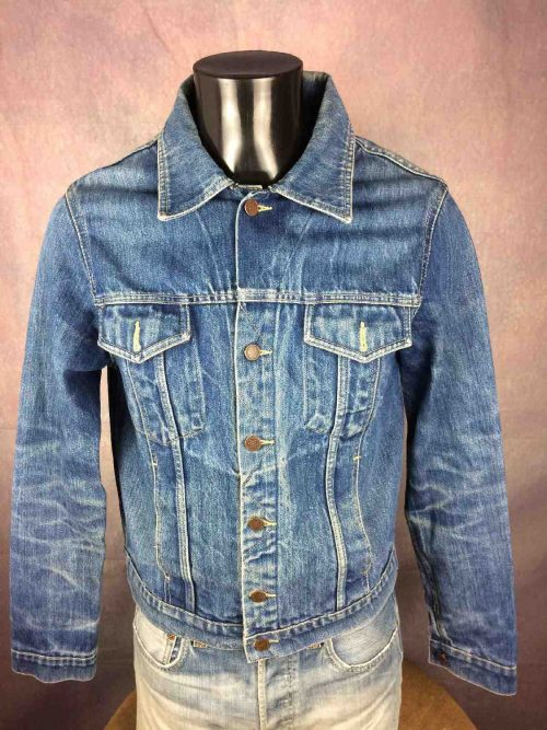 VesteLEVIS 70507, Vintage Année 90, Marque Levi Strauss, Jeans Denim Trucker Rock Jacket Chaqueta