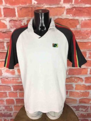 LOTTO Vintage 90s Polo Maillot Tennis Italy - Gabba Vintage