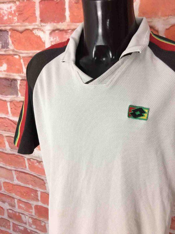 LOTTO Vintage 90s Polo Maillot Tennis Italy Gabba Vintage 2 - LOTTO Vintage Années 90s Polo Maillot Tennis Italiano