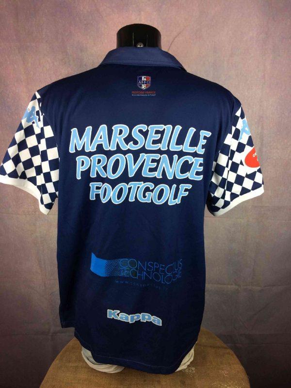 MARSEILLE Provence Footgolf Maillot Kappa Gabba Vintage 5 - MARSEILLE Provence Footgolf Maillot Kappa