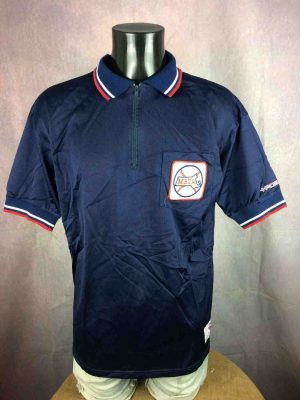 MBUA Polo Maillot +POS Made in USA Softball - Gabba Vintage