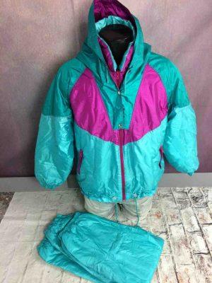 MONTVAL Survêtement Vintage 90s Ski Italy - Gabba Vintage