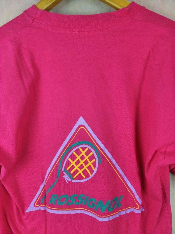 ROSSIGNOL Sportline T Shirt Vintage Annees 90 Gabba. 1 - ROSSIGNOL Sportline T-Shirt Vintage Années 90