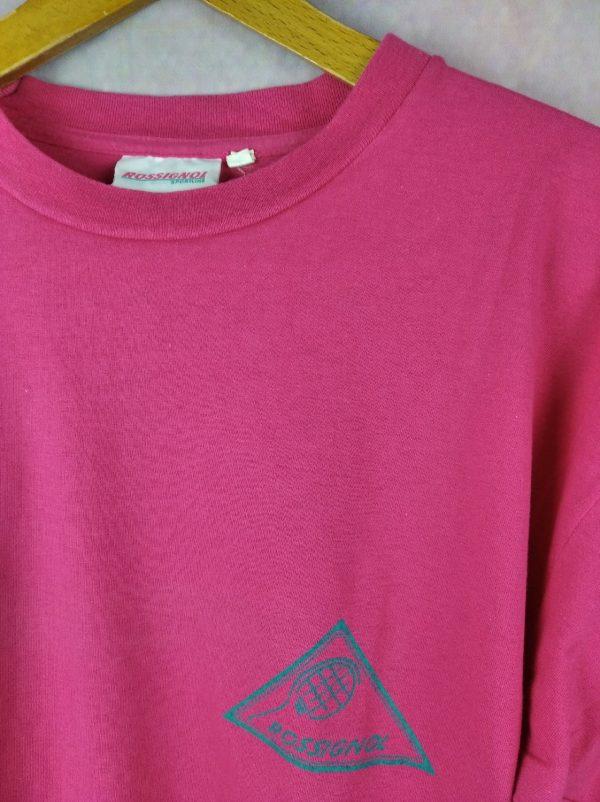 ROSSIGNOL Sportline T Shirt Vintage Annees 90 Gabba. 3 - ROSSIGNOL Sportline T-Shirt Vintage Années 90