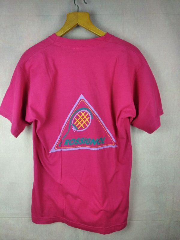 ROSSIGNOL Sportline T-Shirt Vintage Années 90 - Gabba..