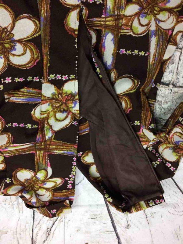 Robe Vintage Annees 70 Fleurs Seventies Gabba Vintage 1 rotated - Robe Vintage Années 70 Fleurs Seventies