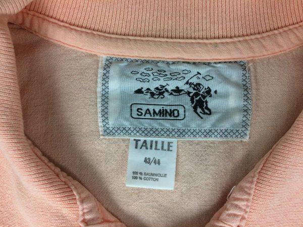 SAMINO Polo Vintage 80s Ski Fun Oversize Gabba Vintage 3 rotated - SAMINO Polo Vintage 80s Ski Fun Oversize