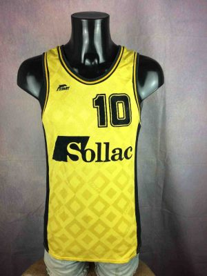 SOLLAC Maillot #10 Made in France Vintage 80s - Gabba...