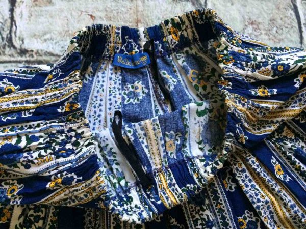 VALDROME Jupe Vintage Annees 80 Provence Gabba Vintage 4 - VALDROME Jupe Vintage Années 80 Provence