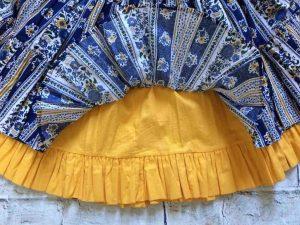 VALDROME Jupe Vintage Annees 80 Provence Gabba Vintage 6 - VALDROME Jupe Vintage Années 80 Provence
