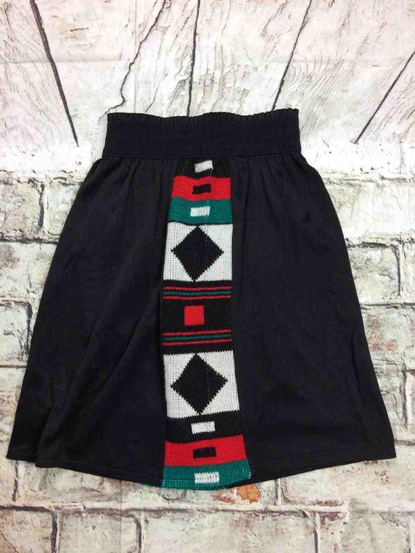 VINTAGE 80s Ensemble Sweat Jupe Noir Unisex Gabba Vintage 1 - VINTAGE 80s Ensemble Sweat Jupe Noir Unisex
