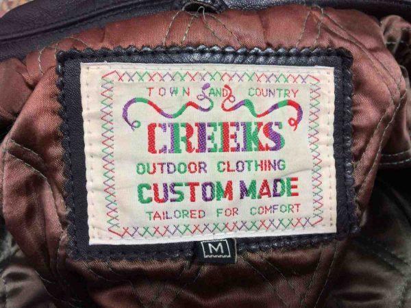 Veste Creeks Doublee Femme Tresse Biker Rock Gabba Vintage 10 rotated - Veste Creeks Doublée Femme Tresse Biker Rock