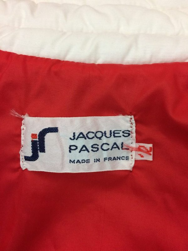 Veste Jacques Pascal Gilet Vintage Annee 80 Gabba Vintage 7 rotated - Veste Jacques Pascal Gilet Vintage Année 80