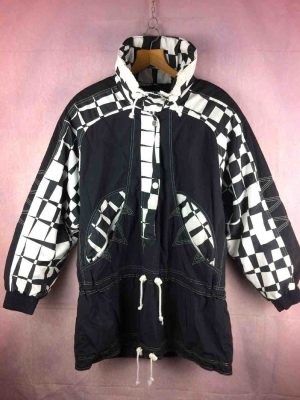 Veste Ski Sunset Fun Vintage 90s Made Austria - Gabba...