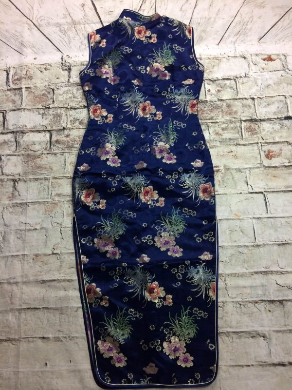 YHSL Robe Traditionnelle Chinoise Annee 90s Gabba Vintage 1 rotated - YHSLRobe Traditionnelle ChinoiseAnnée 90s