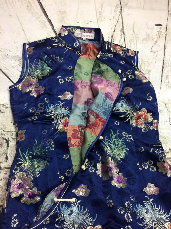 YHSL Robe Traditionnelle Chinoise Annee 90s Gabba Vintage 2 - YHSLRobe Traditionnelle ChinoiseAnnée 90s