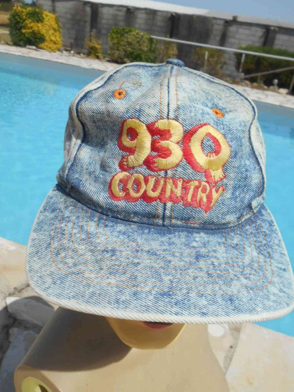 93Q COUNTRY Casquette Vintage Annee 90 USA Gabba Vintage 3 - 93Q COUNTRY Casquette Vintage Année 90 USA