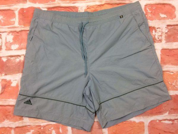 ADIDAS Maillot de Bain homme, Shorts, véritable vintage 2002, doublé, élastique de serrage et cordon, Sport Beach Wear Swim