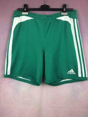 Shorts ADIDAS , vintage 2005, technologie Climalite , taille élastique et serrage cordon, Team Football Sports